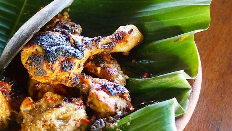 Traditional Balinese meat dish