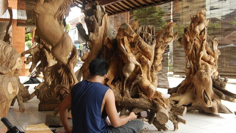 handicraft shopping bali