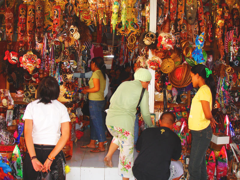 Sukawati Market stall