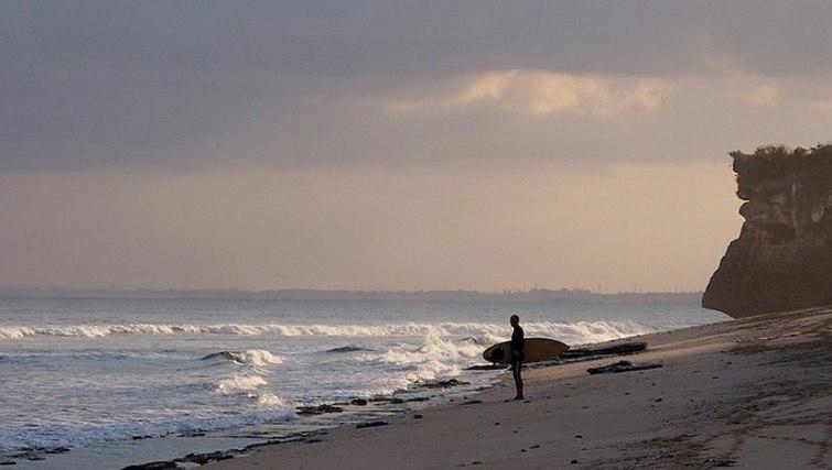 Balangan surf break, Bali.