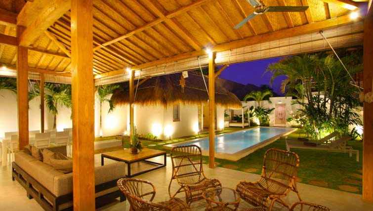 four bedroom villa for rent seminyak