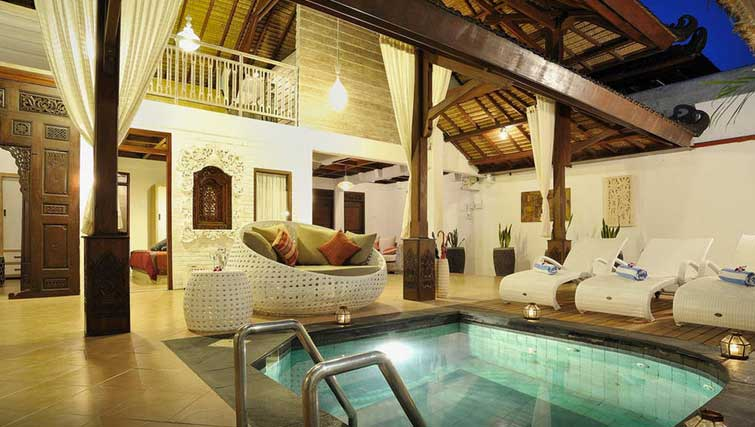 3 bedroom Seminyak pool villa