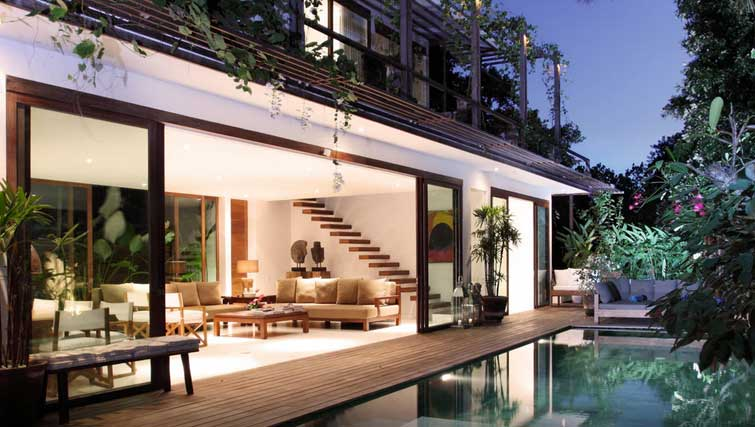 boutique villa for rent seminyak