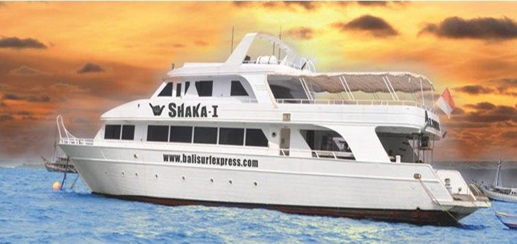 Shaka - I Yacht Surf Tour