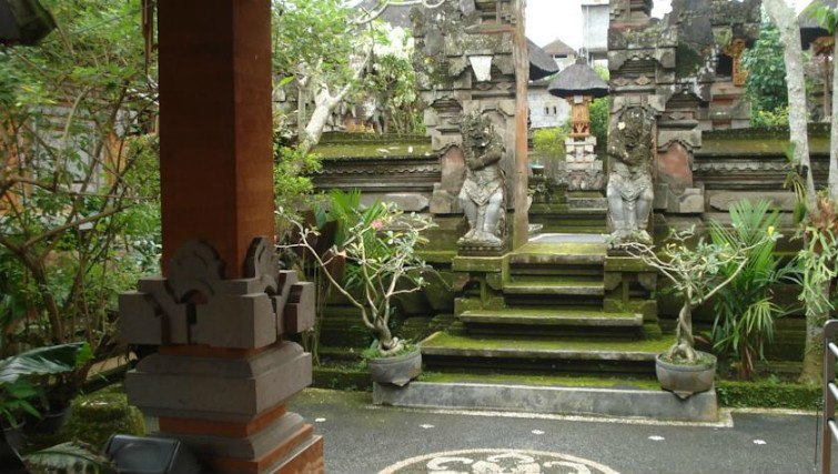 Traditional homestay in Ubud